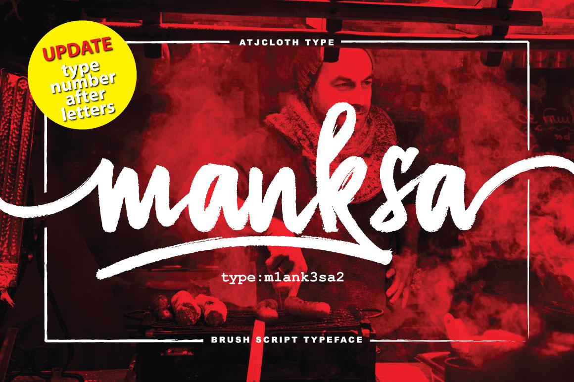 Manksa Typeface example image 1