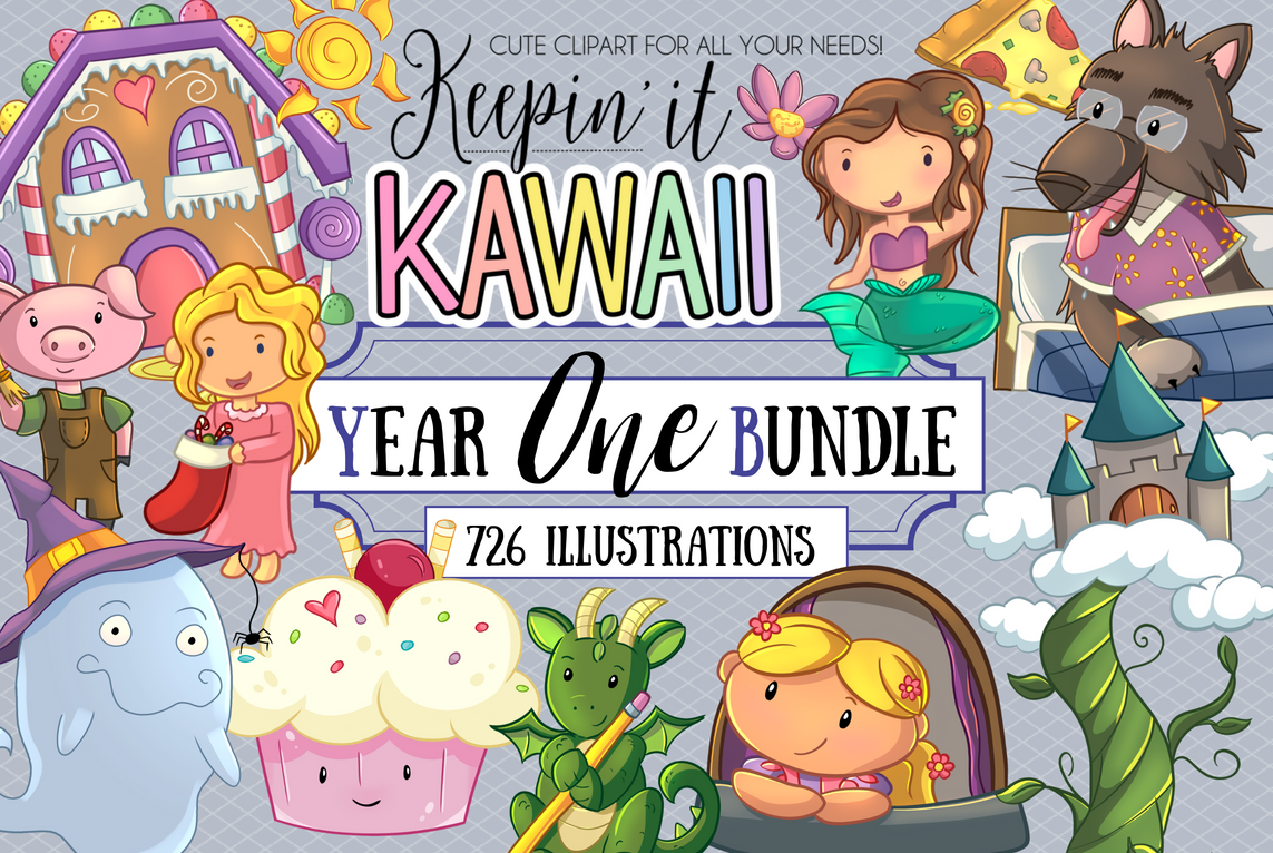 Year One Clip Art Bundle - Everything From Our First Year! example image 1