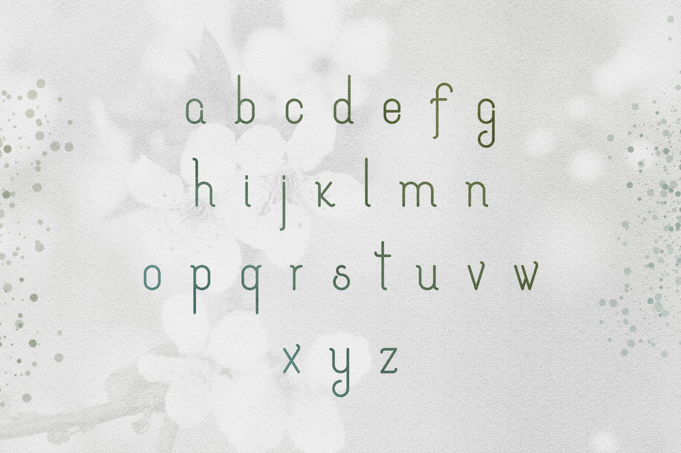 [Spring Vibes] Splendor Font example image 5