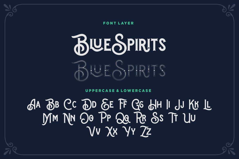 Blue Spirits example image 7