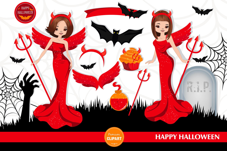 Halloween bundle, Halloween illustrations example image 6