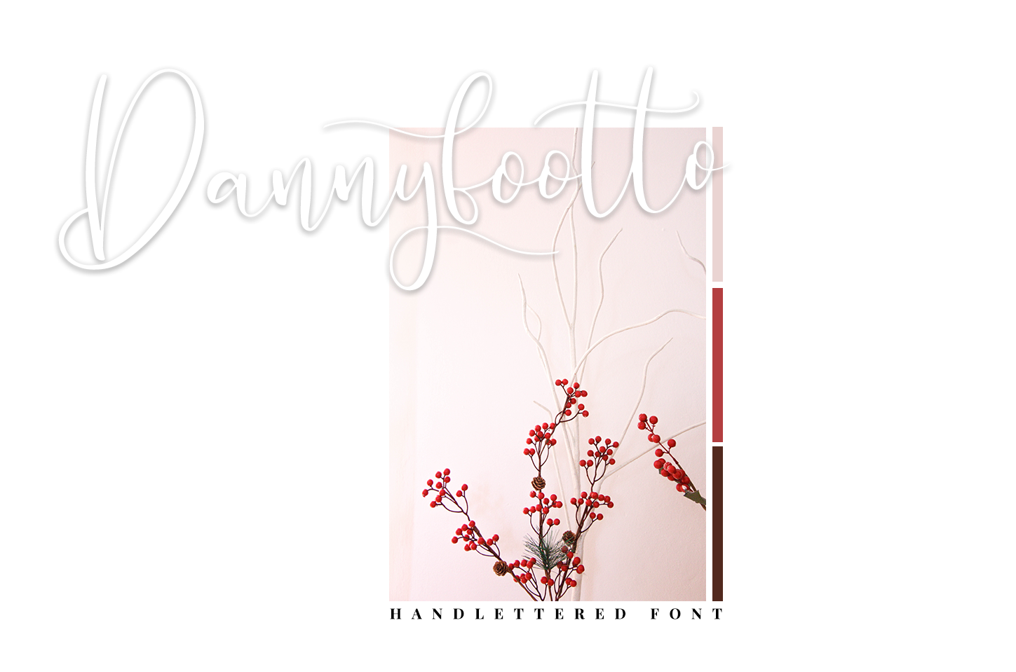 Dannyfootto///handlettered font example image 3