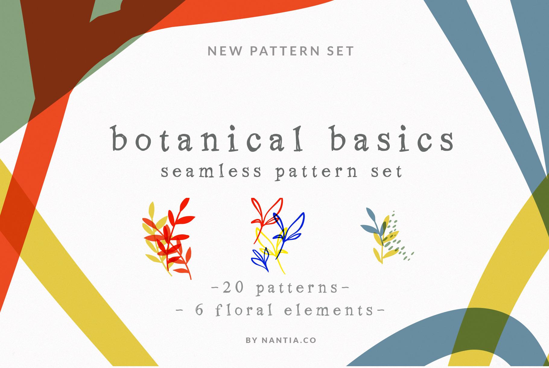 Botanical Basics Pattern Set example image 1