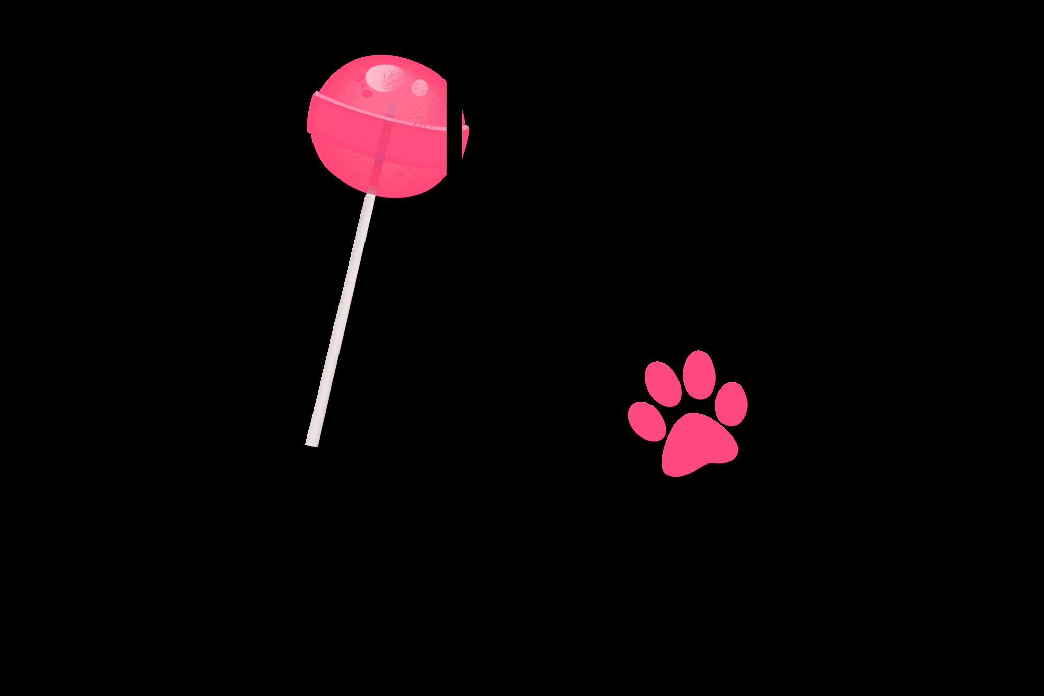 Aussie Dog Australian Shepherd With Sucker PNG Transparent example image 1