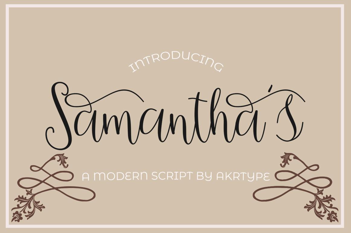 The Script Font Bundle example image 6