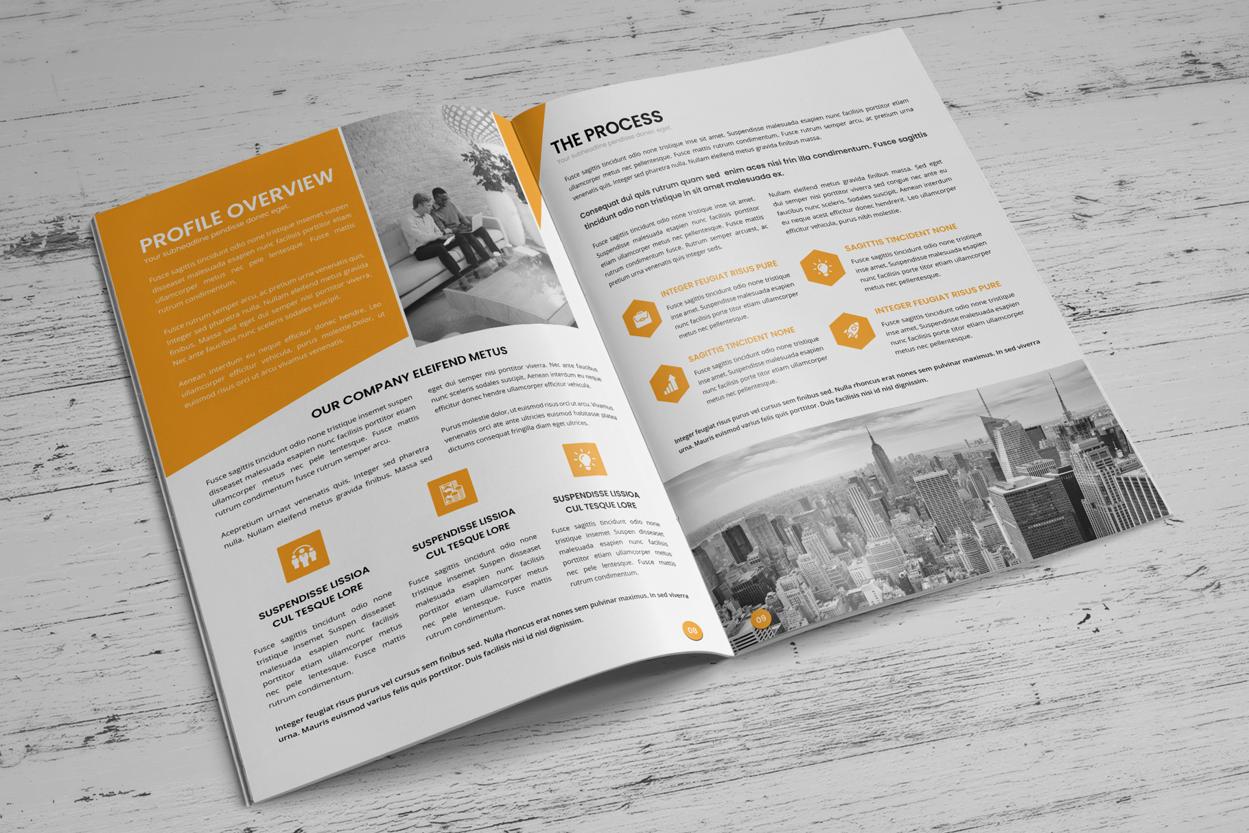 Annual Report Design v6 example image 6