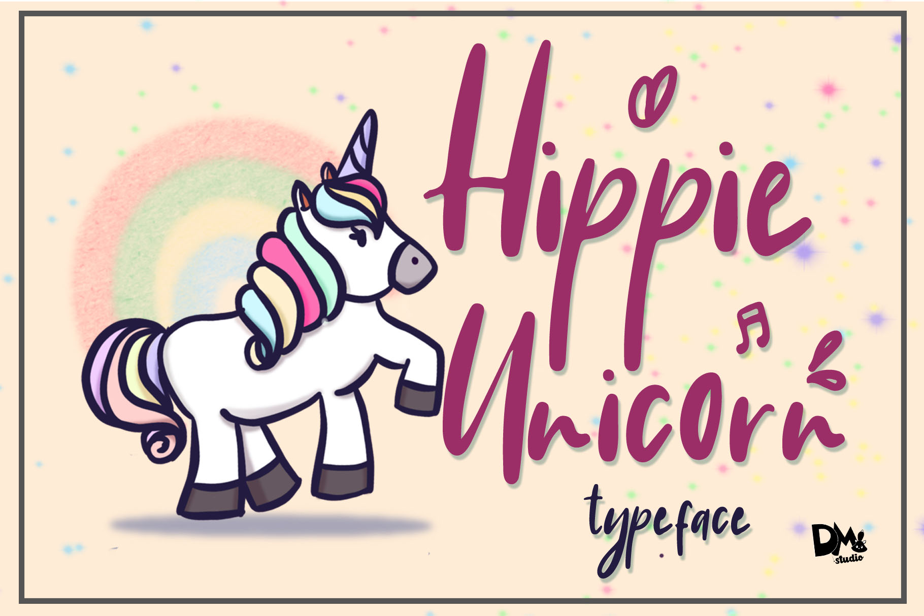 Hippie Unicorn example image 1