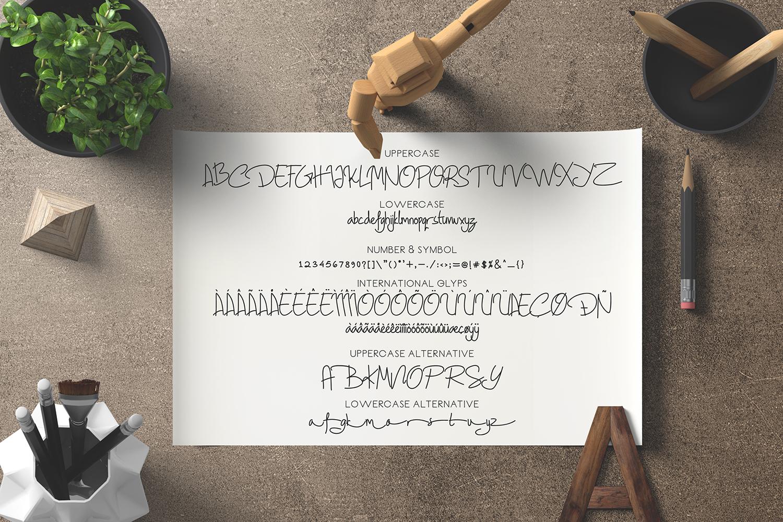 Geovana Signature Typeface example image 9