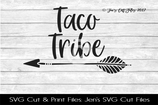 Taco Tribe SVG Cut File example image 1