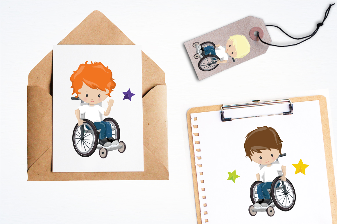 Little boys graphic and illustrations example image 4