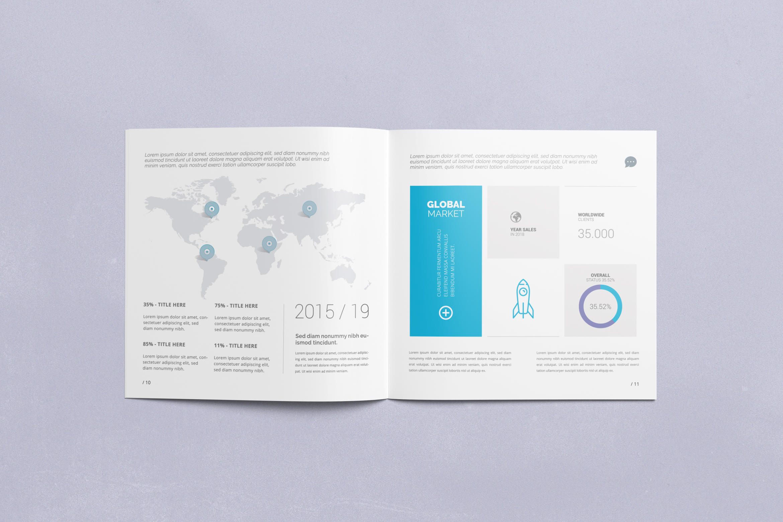 Multipurpose Square Brochure example image 5