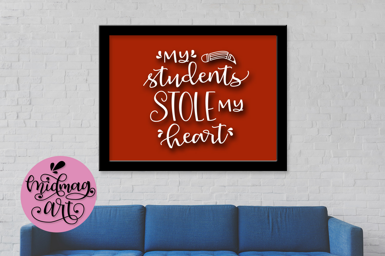 My students stole my heart svg, png, jpeg, eps and dxf example image 3