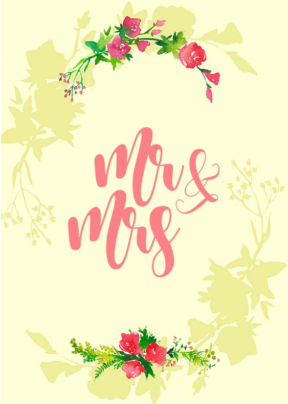 Mr and Mrs Wedding SVG PNG EPS DXF, Wedding svg example image 2