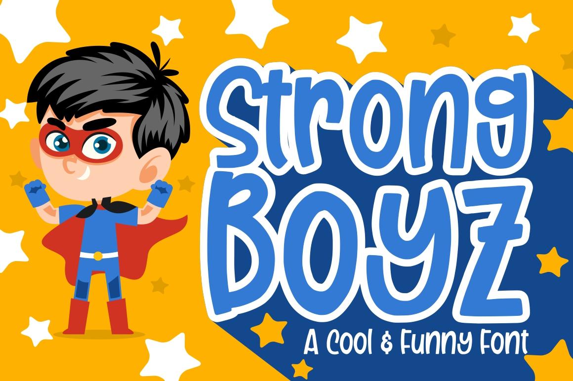 Strong Boyz example image 1