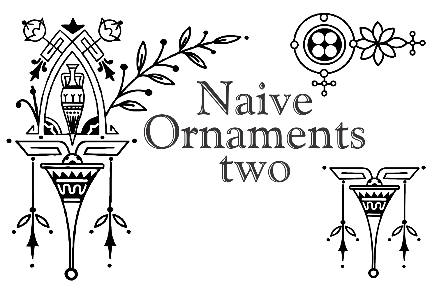 Naive Ornaments Two example image 3