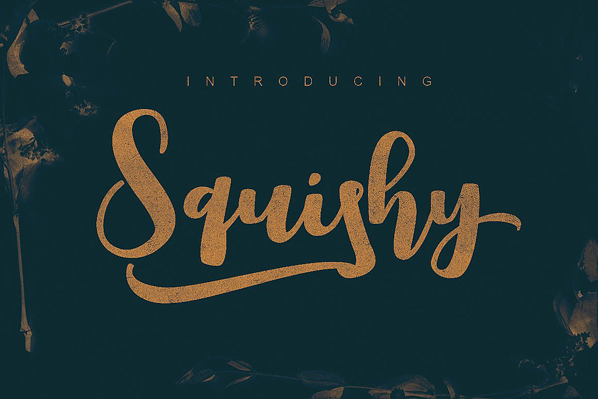 Squishy Script Font example image 5