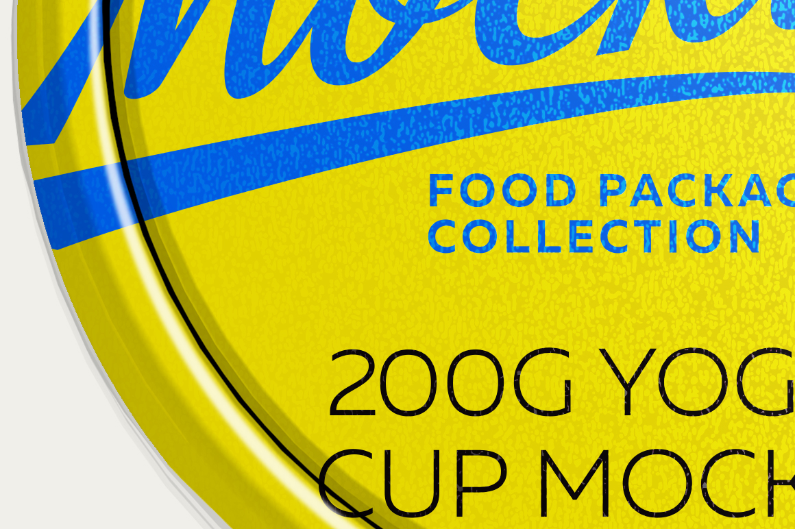 200G YOGURT CUP MOCKUP example image 5