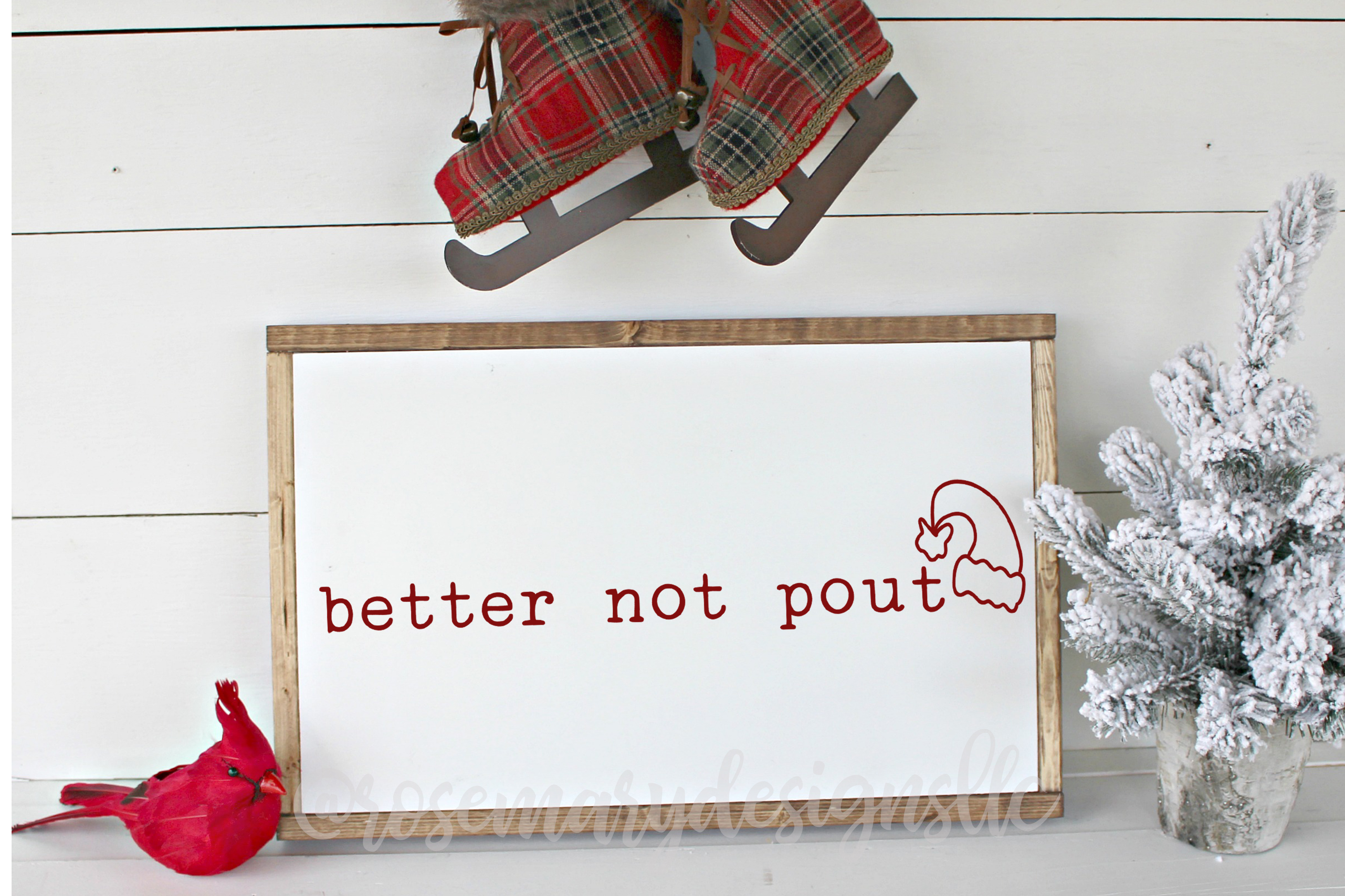 better not pout SVG example image 1