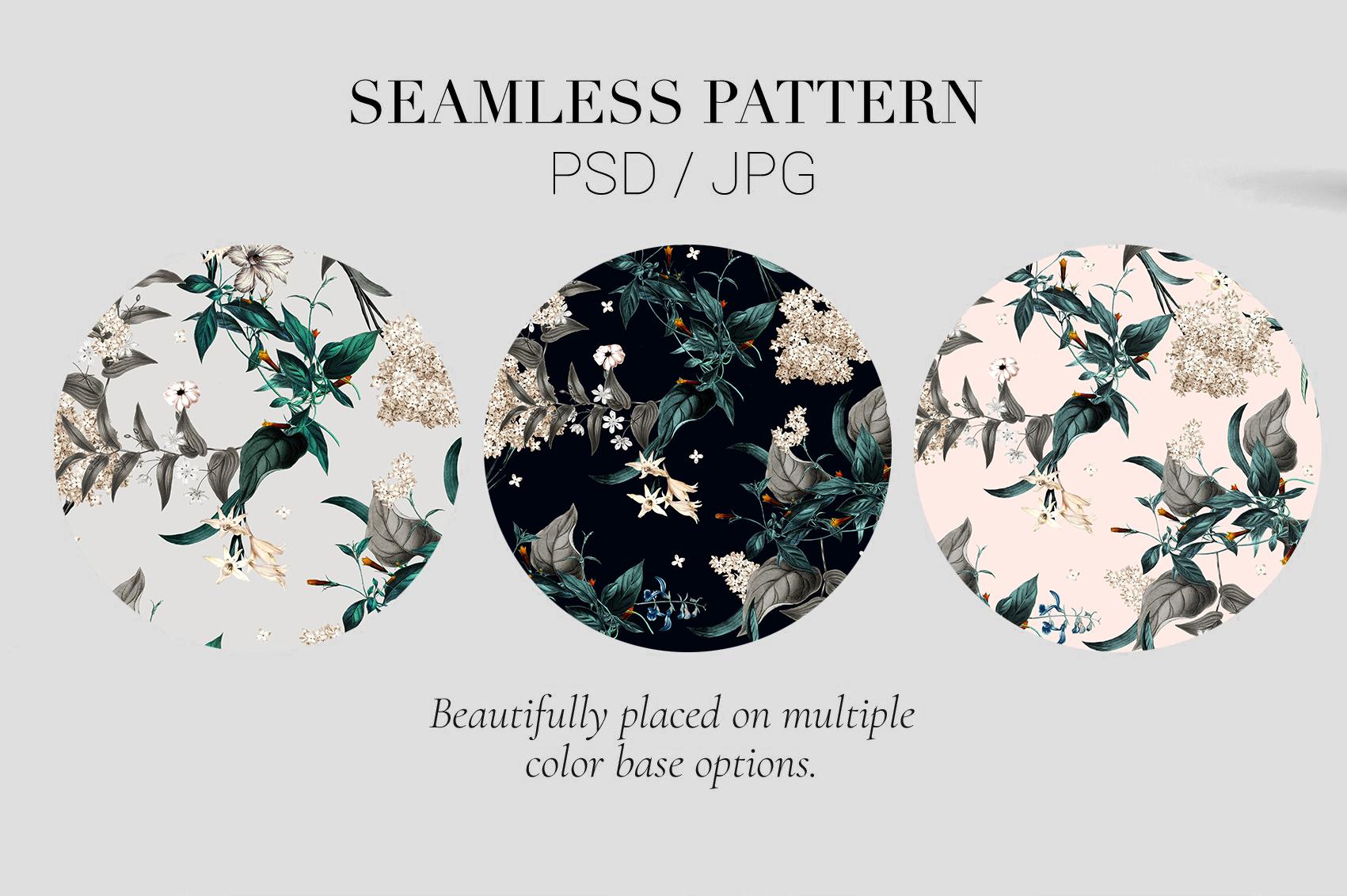 Essence | 3 Seamless Pattern example image 3