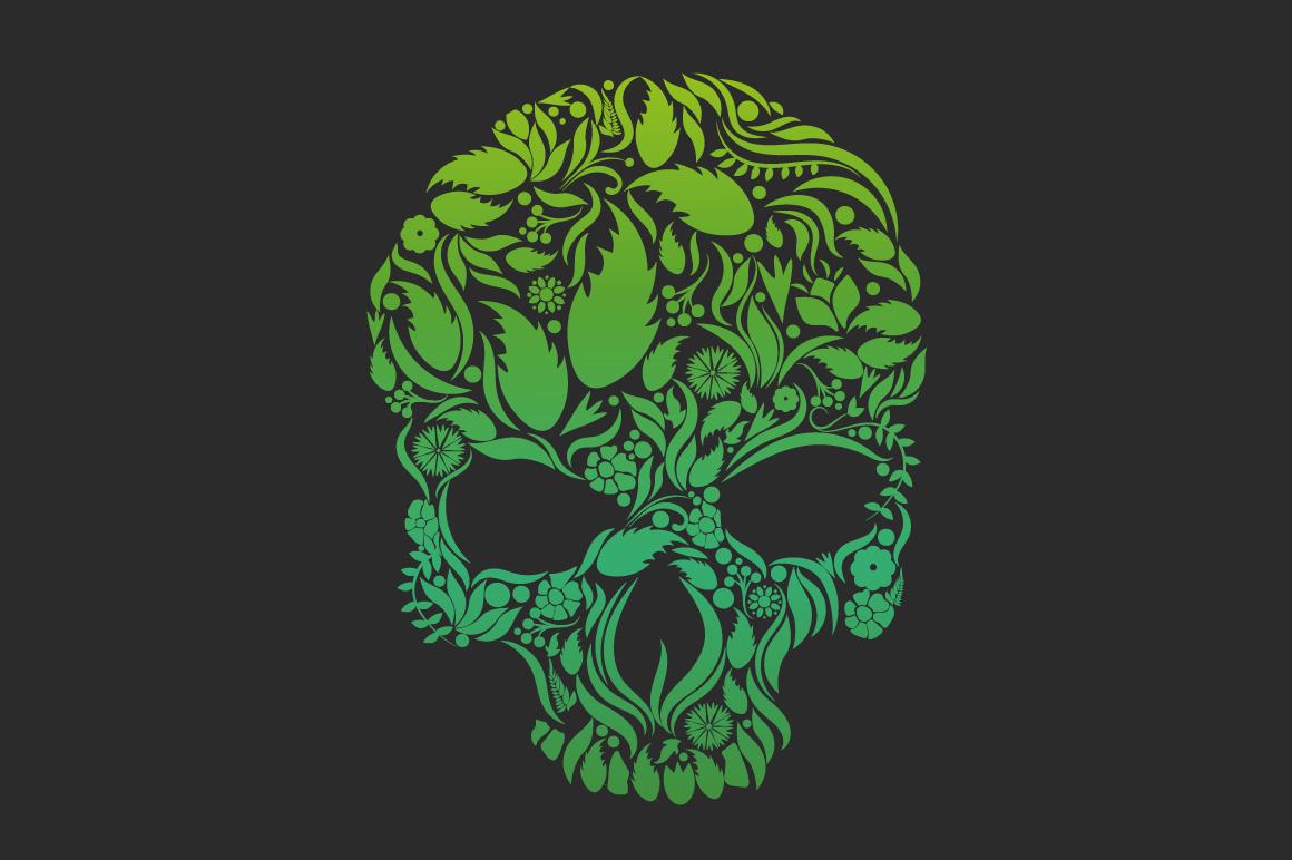 Herbs Skull example image 1