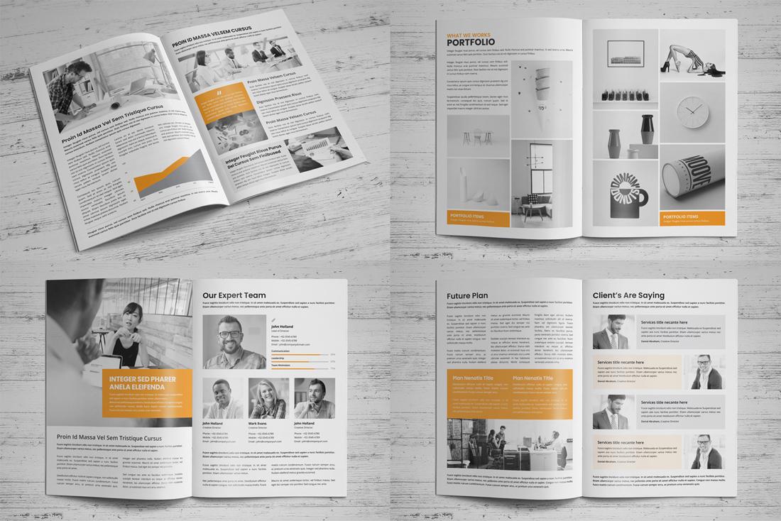 Company Profile Bundle example image 17