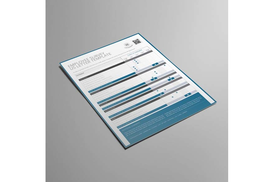 Employee Survey US Letter Template example image 3