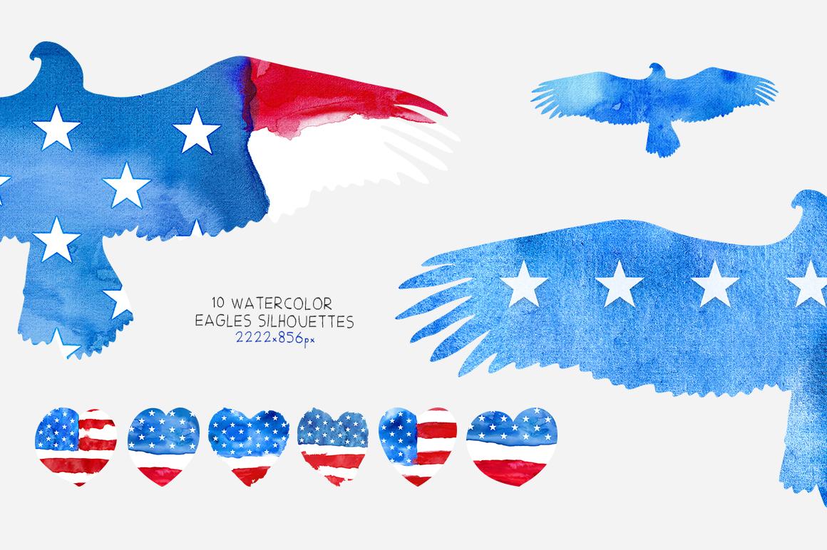 Patriotic USA. MINI Collection. example image 5