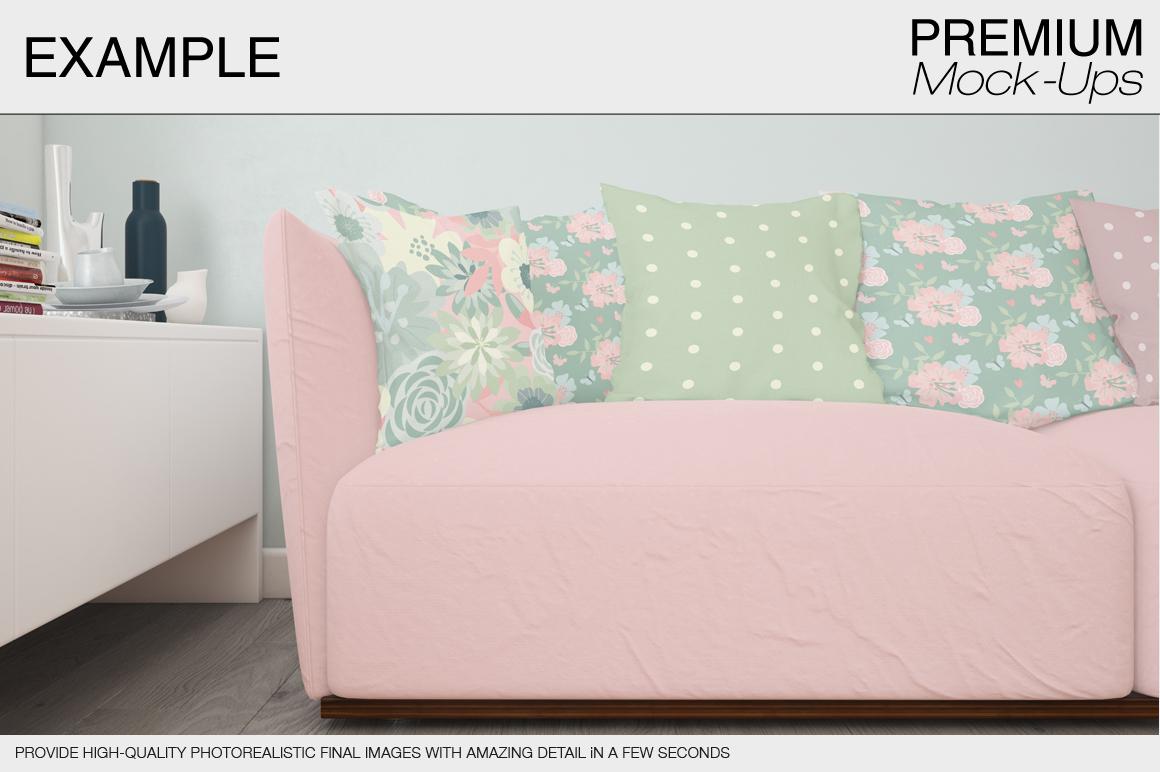 Pillow Mockup Set example image 13
