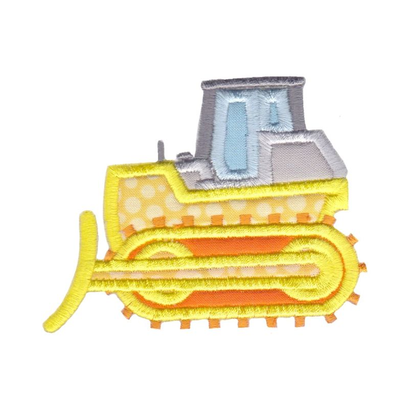 Construction Applique 12 Machine Embroidery Designs example image 12