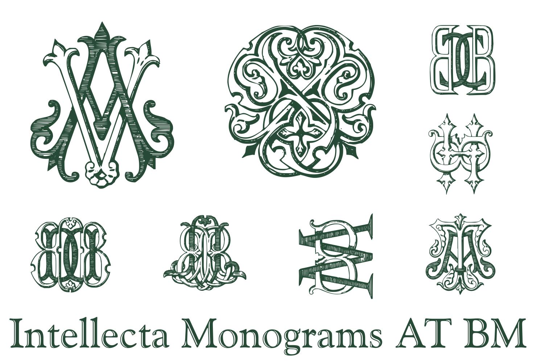IntellectaMonograms AT BM example image 2