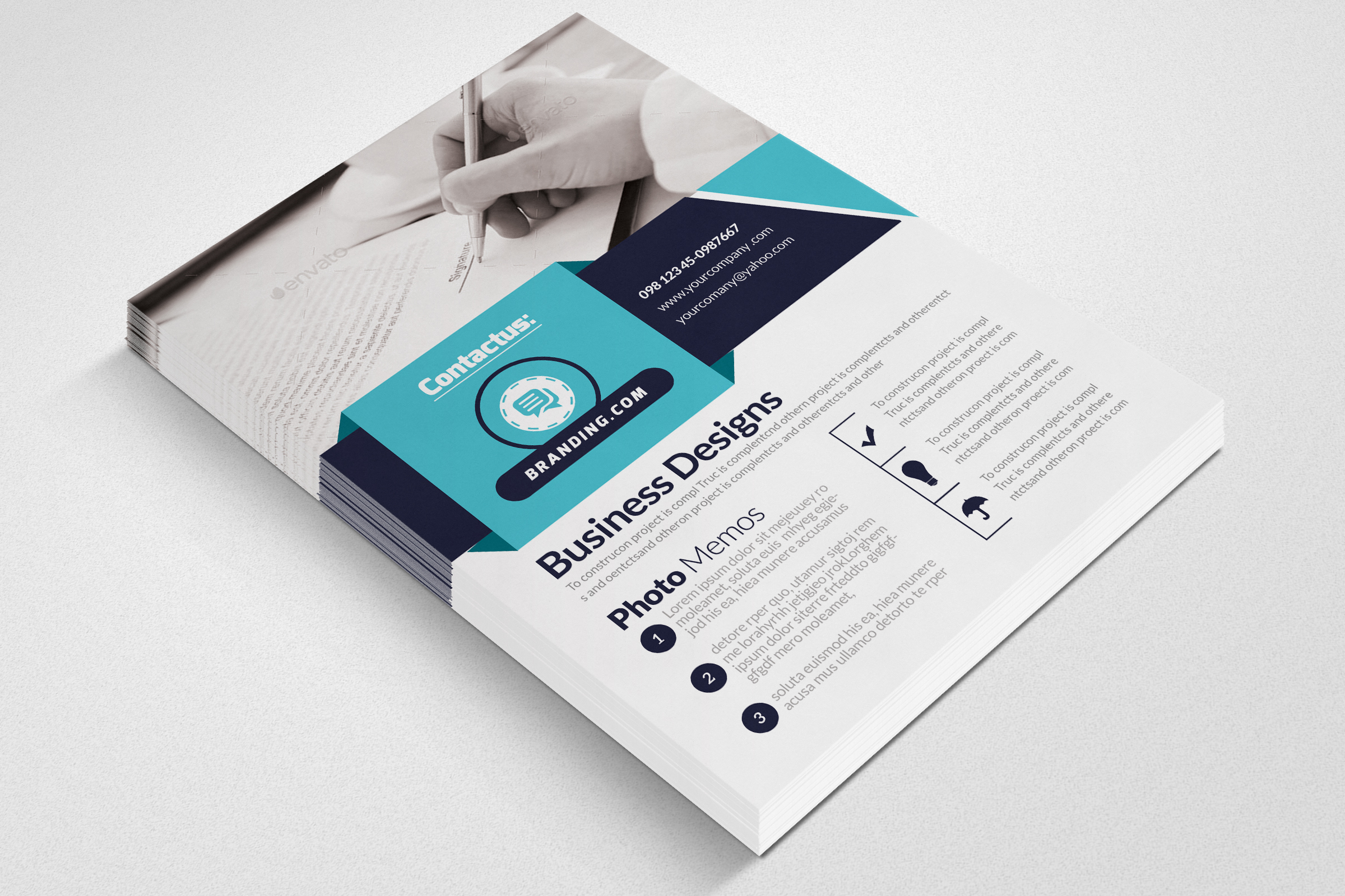 Business Accounting Firm Flyer example image 3