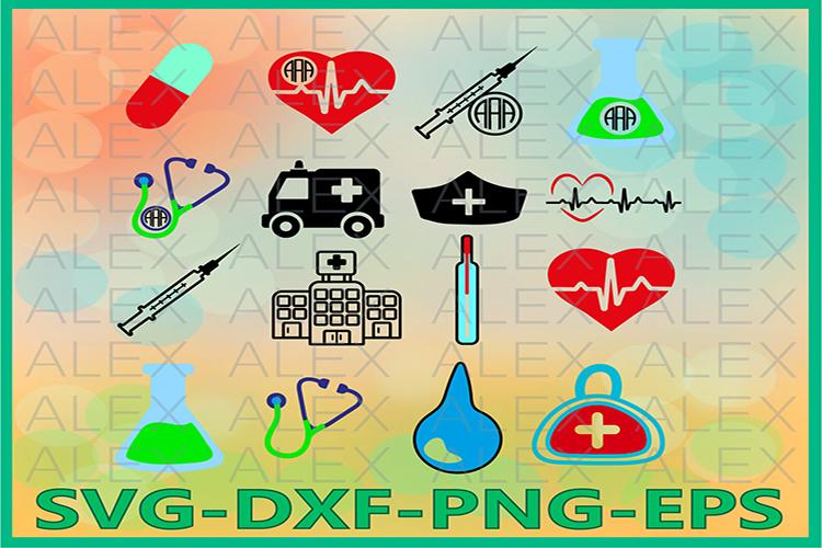Doctor SVG Files,Doctor Monogram Svg Files, Doctor svg example image 1