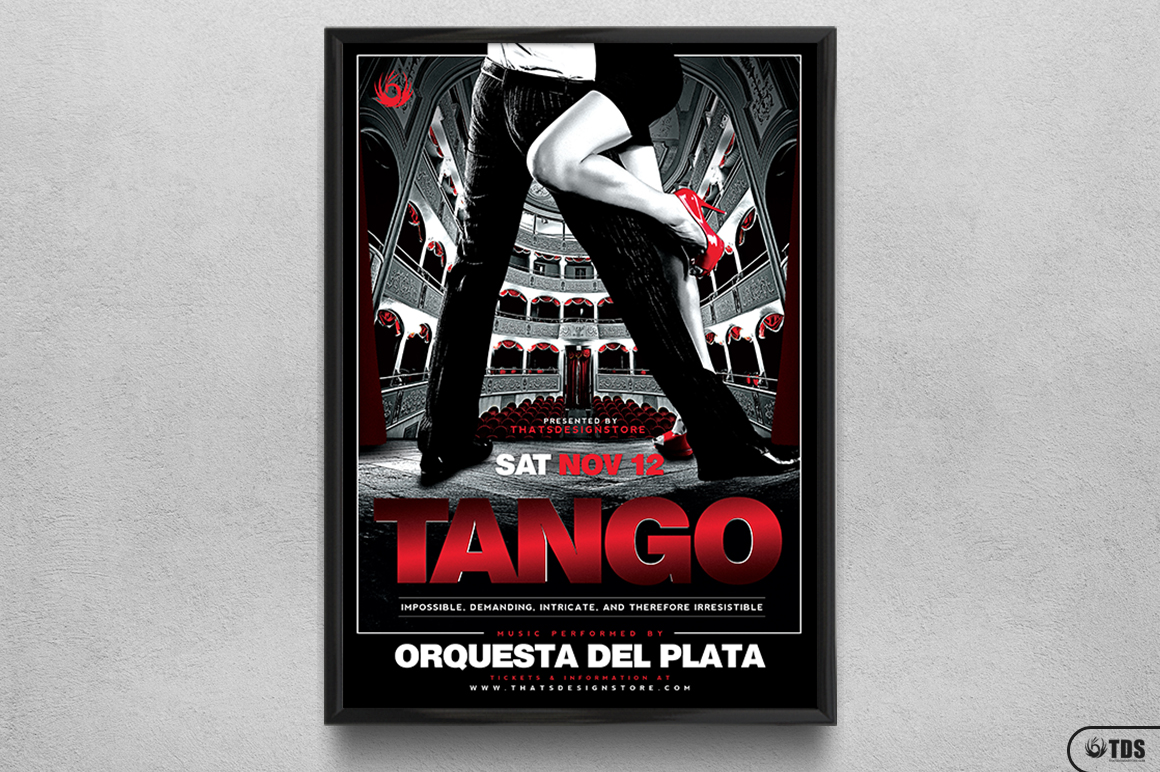 Tango Flyer Template V1 example image 6
