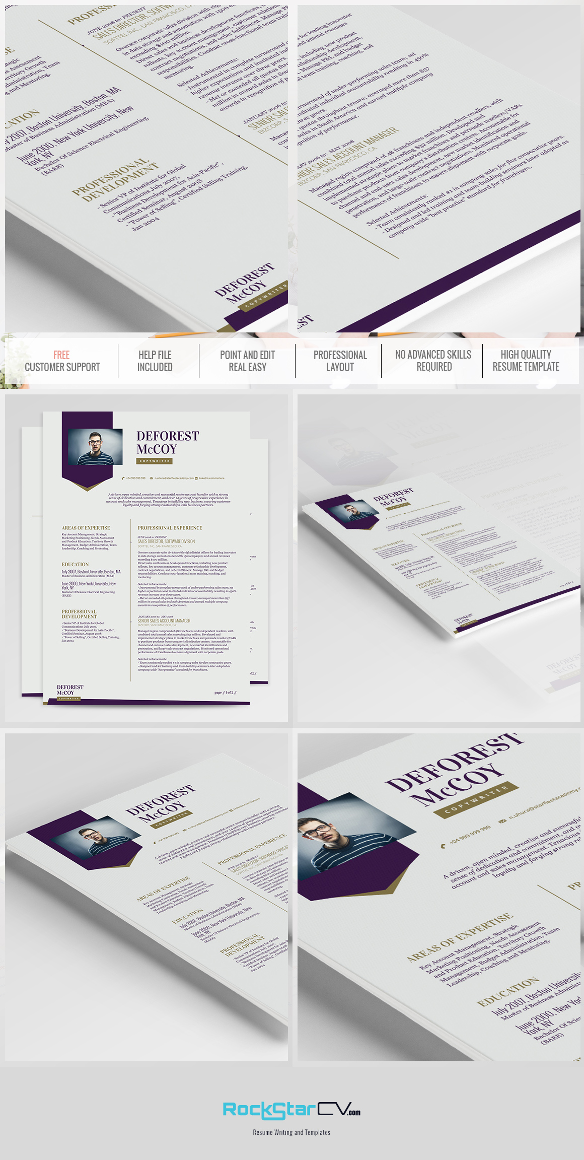 Resume Template Priam
