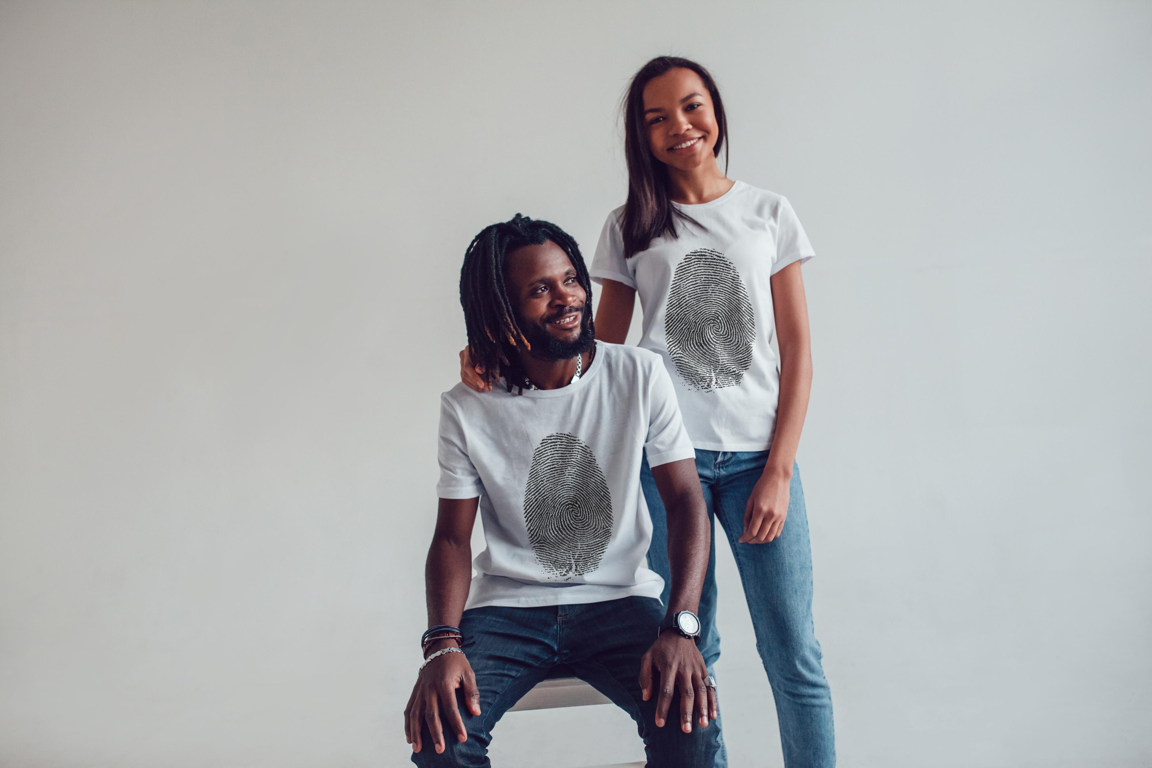 T-Shirt Mock-Up 2018 #1 example image 4