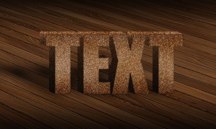 3D Wood Text Styles Kit for Photoshop example image 5