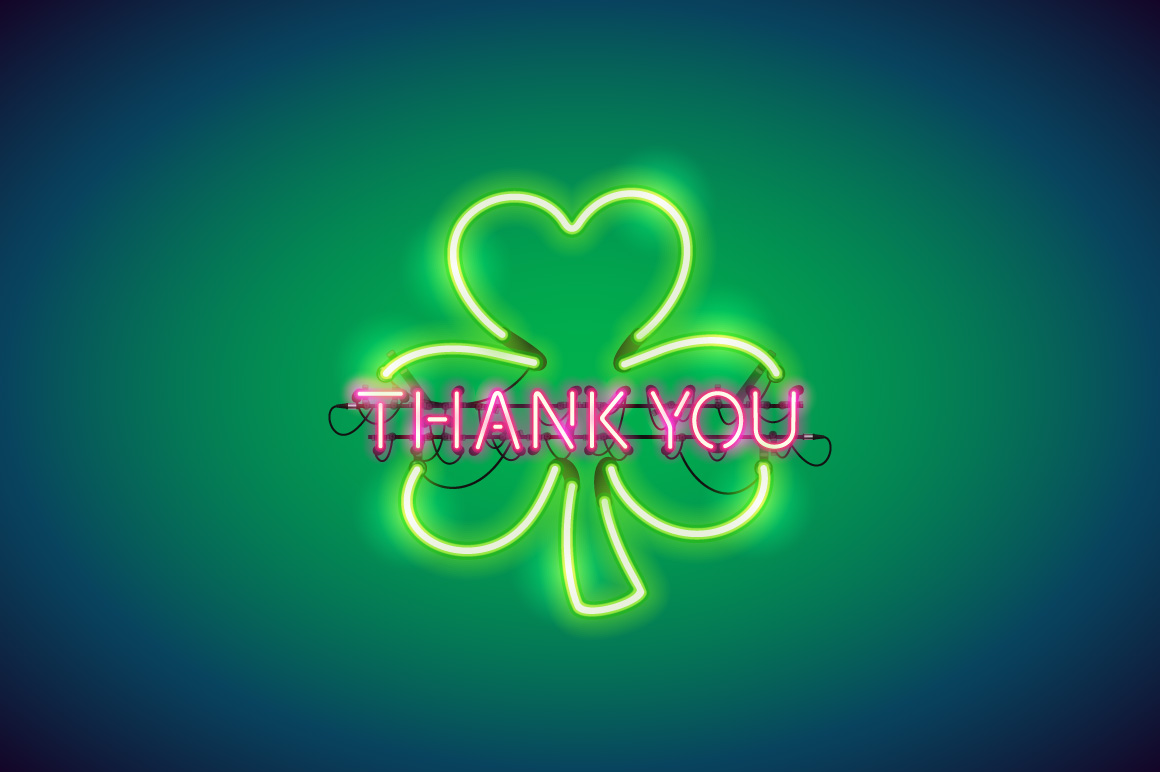 Neon St Patricks Day Sticker Pack example image 7