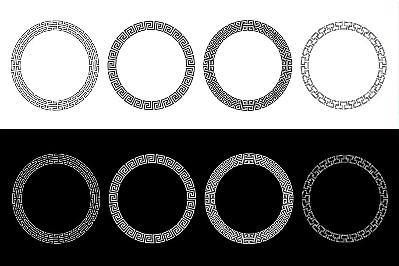 Circle Fretwork Frames example image 2