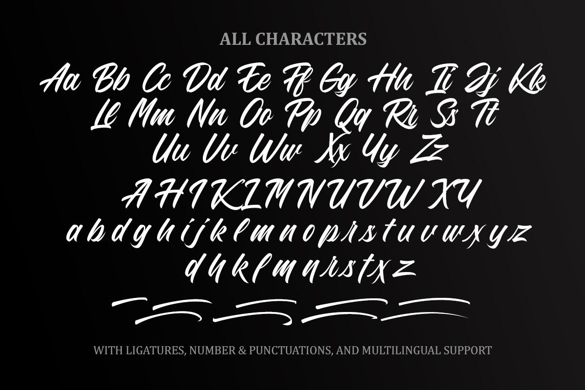 The Brosello Script example image 13
