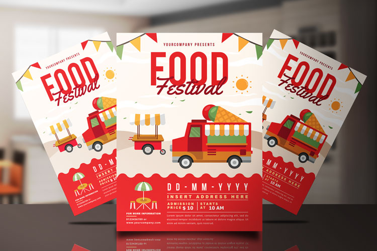 FOOD TRUCK FESTIVAL FLYER 3 example image 1