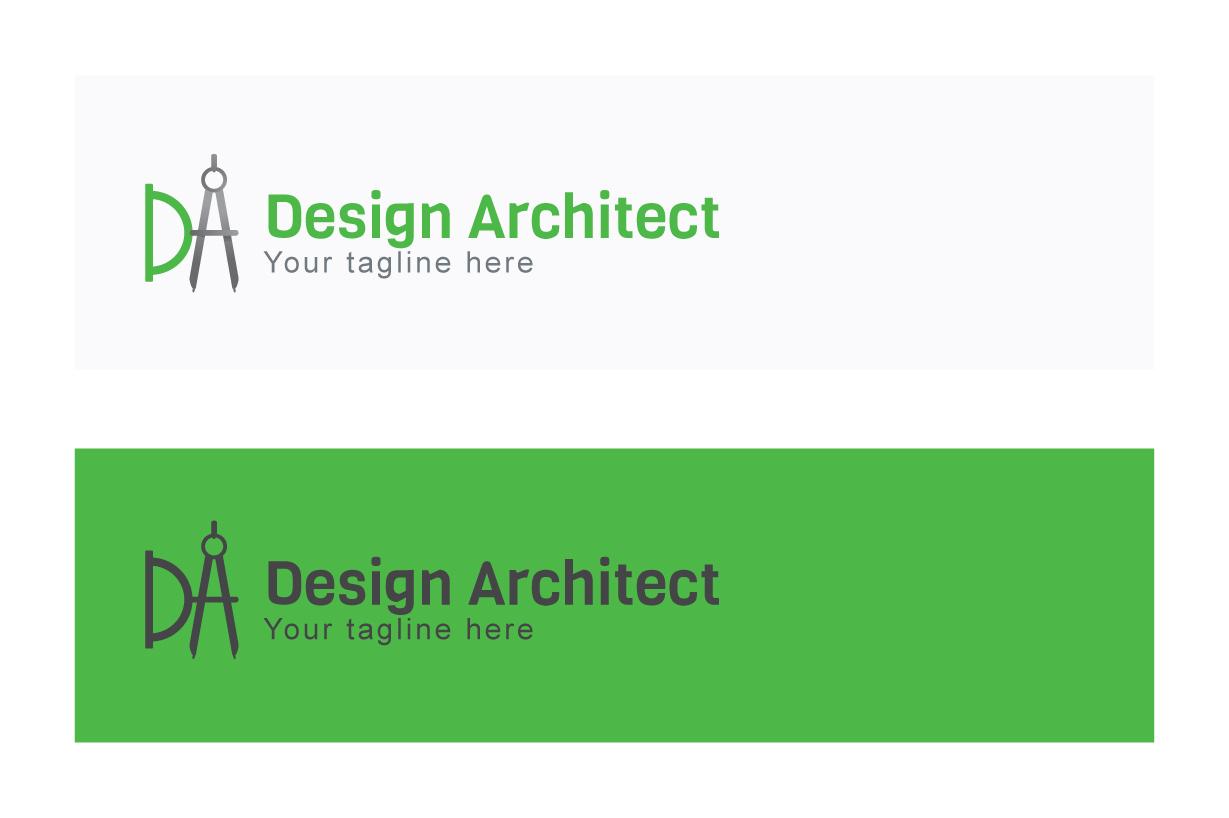 Design Architect - Alphabetic Monogram Stock Logo Template example image 2