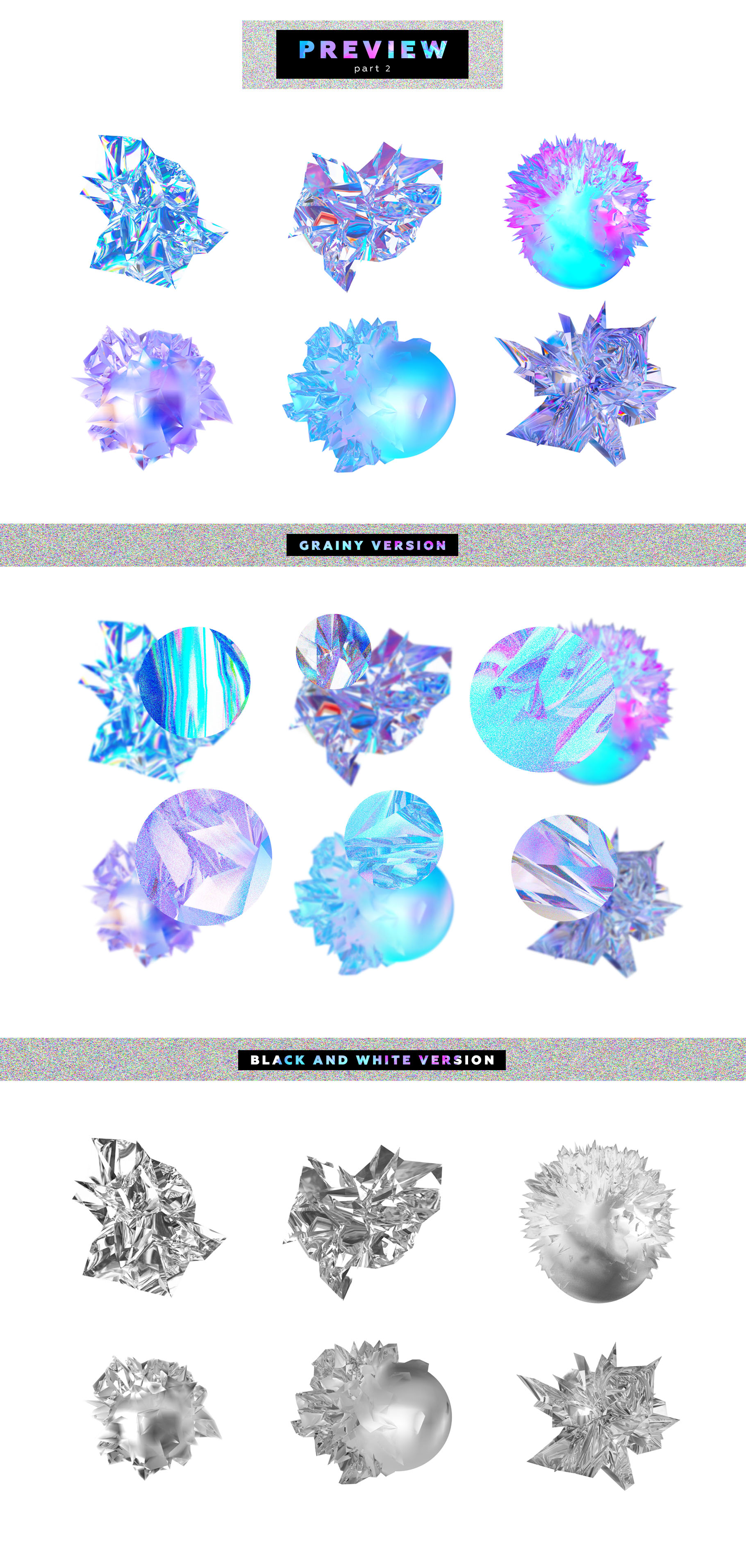 Crystalic - abstract shapes example image 8