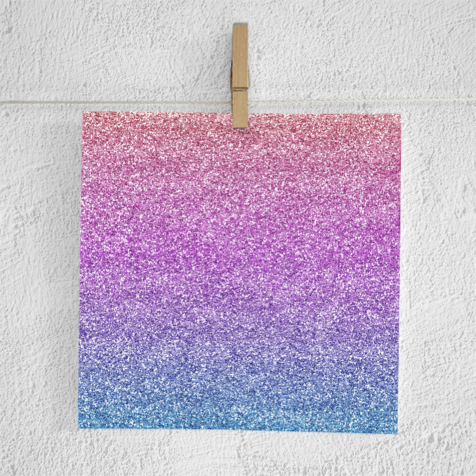 Gradient Glitter Digital Paper example image 4