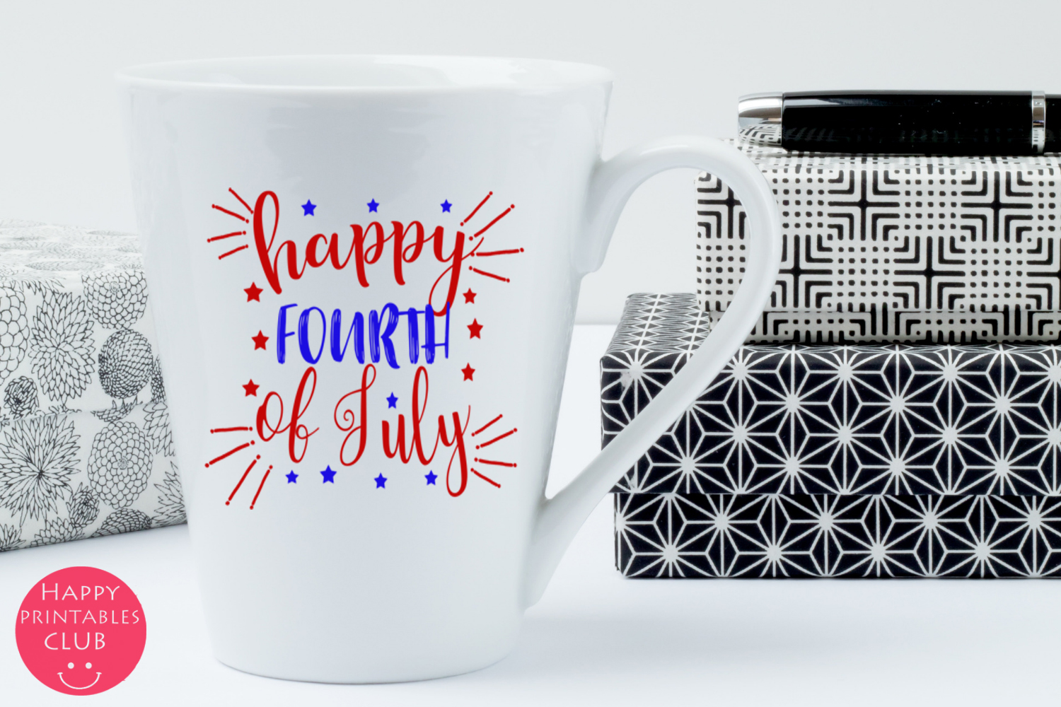 4th of July Text Clipart Overlays- July 4th Word Art Clipart example image 2
