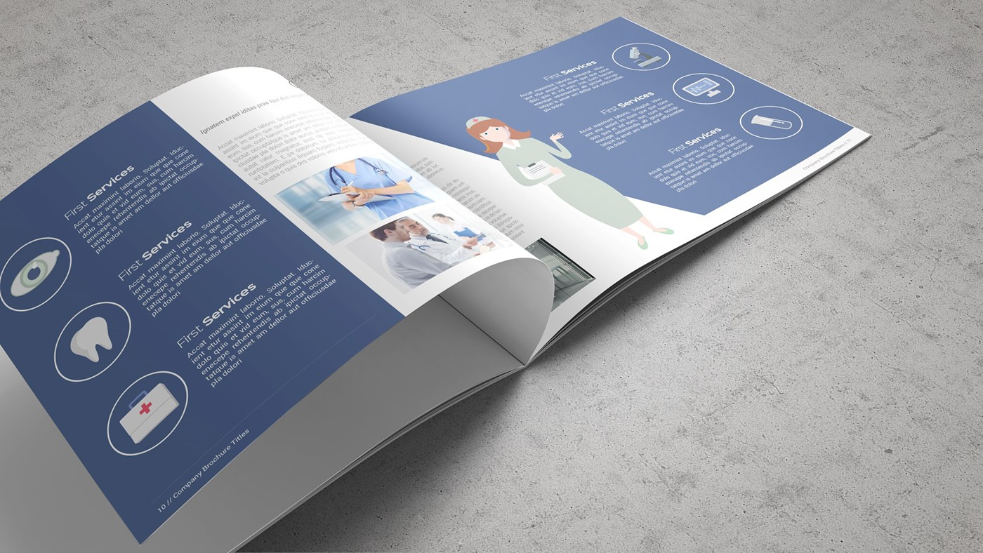 Health & Care Brochure Template example image 16