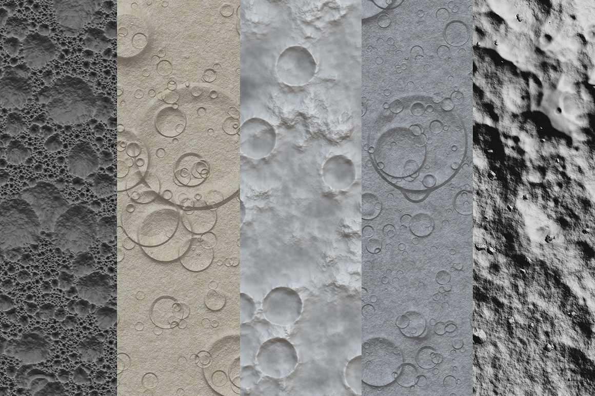 Moon textures example image 6