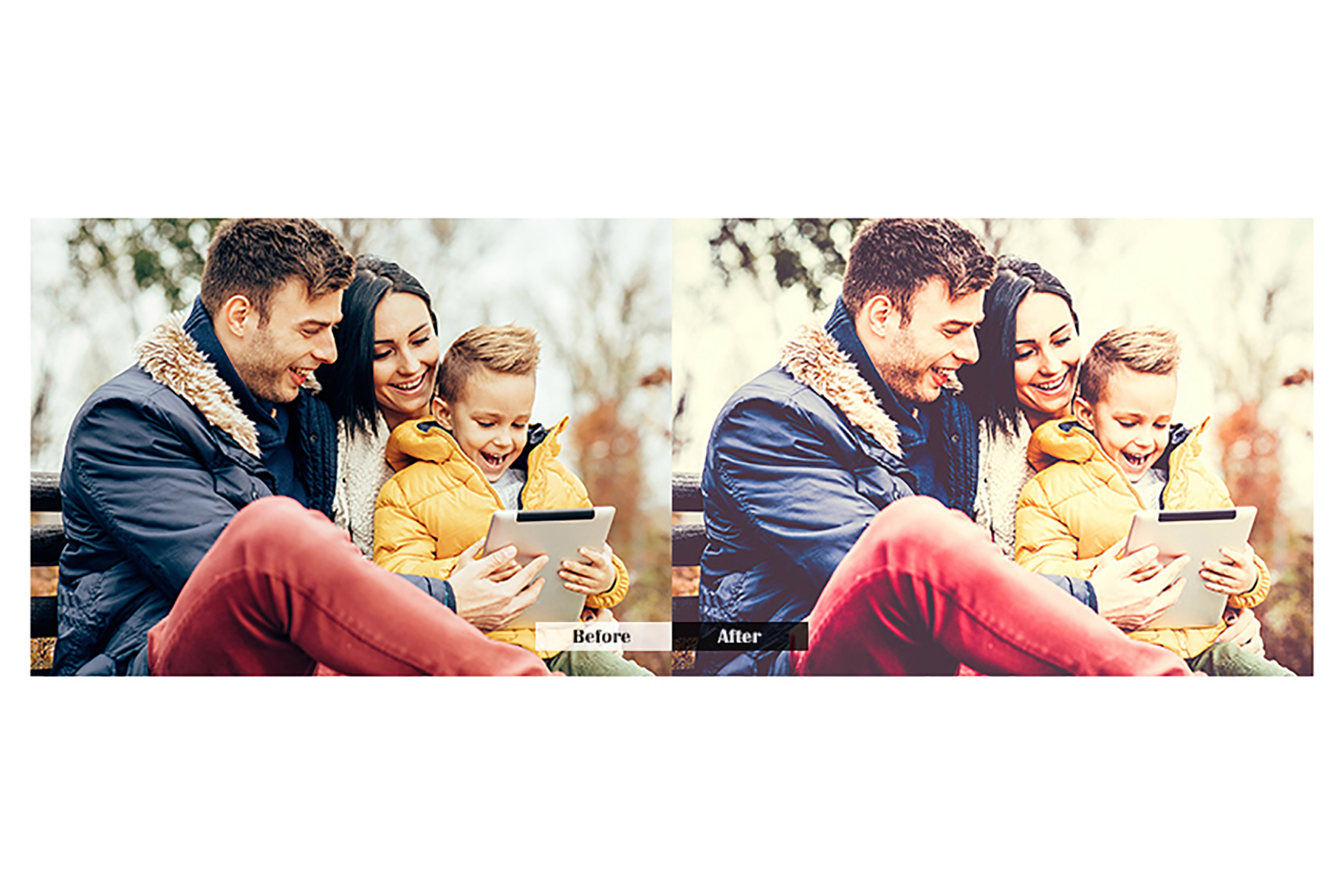 Family Lightroom Mobile Presets example image 2