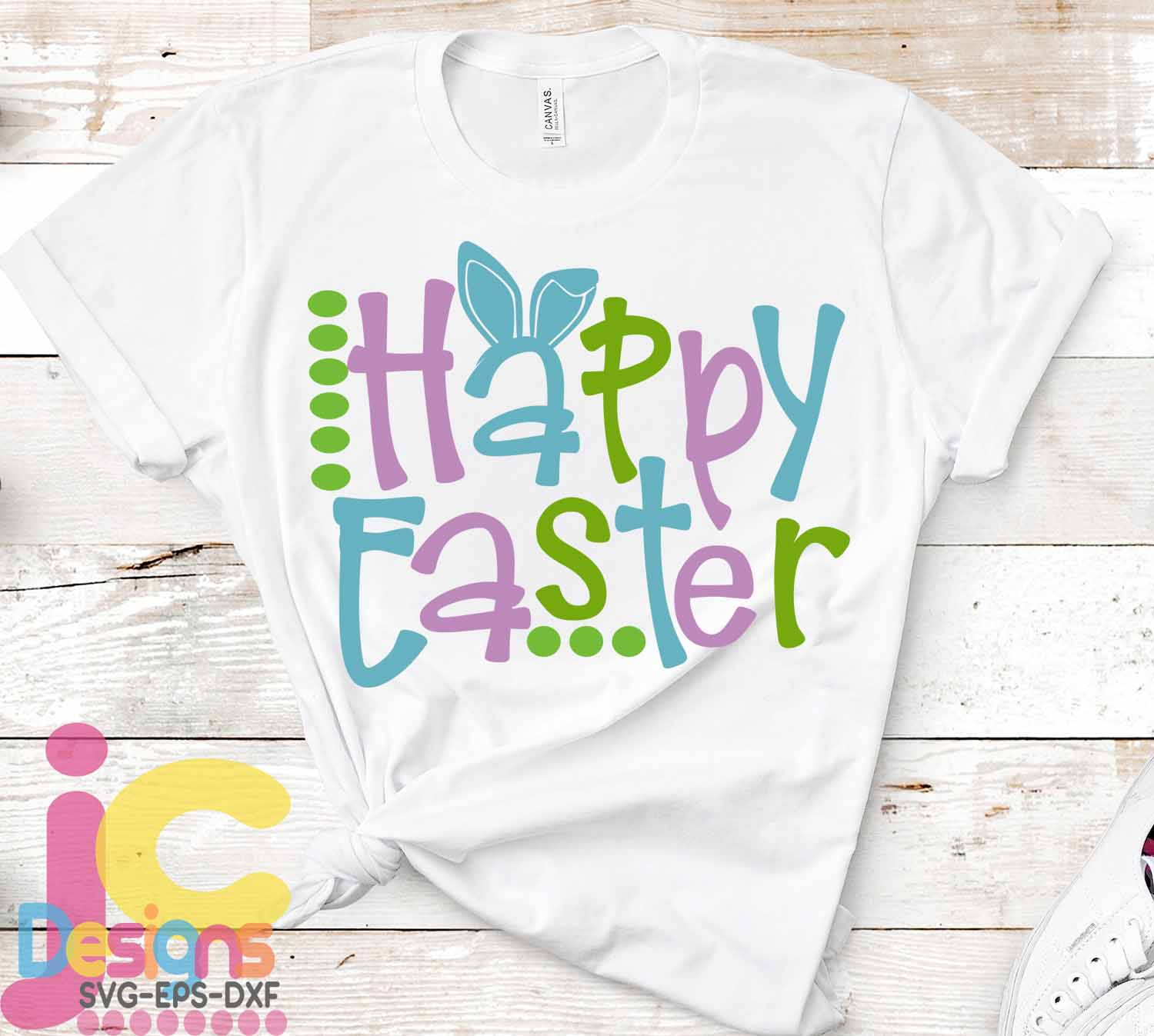 Easter SVG, Happy Easter SVG - Bunny ears Spring svg example image 2