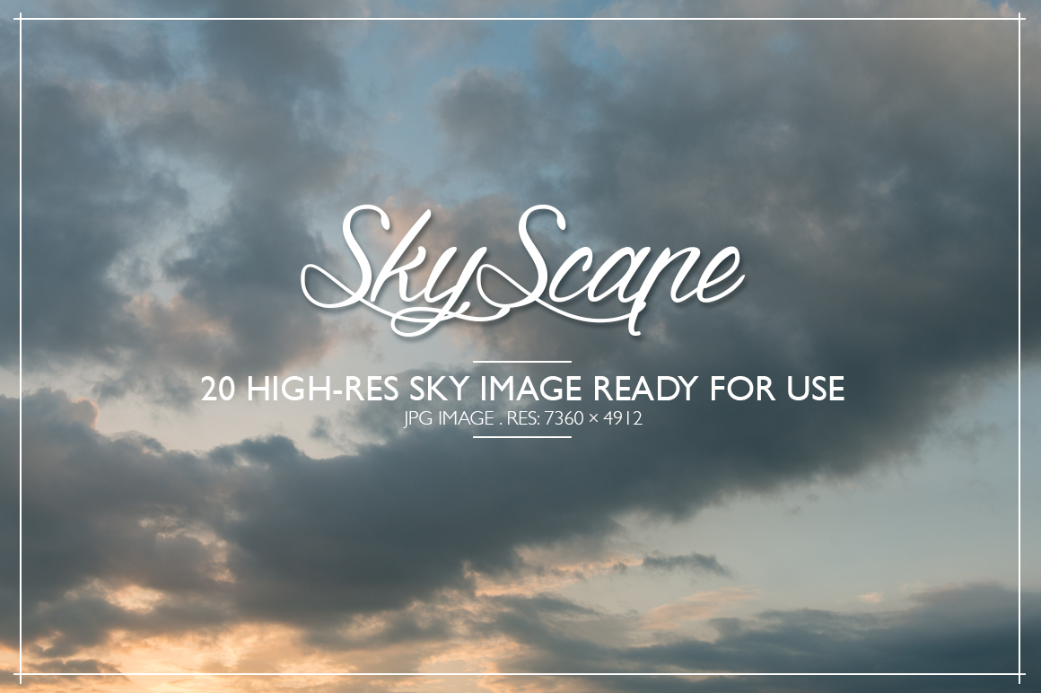 SKYSCAPE - 20 Hi-Res Sky images example image 1
