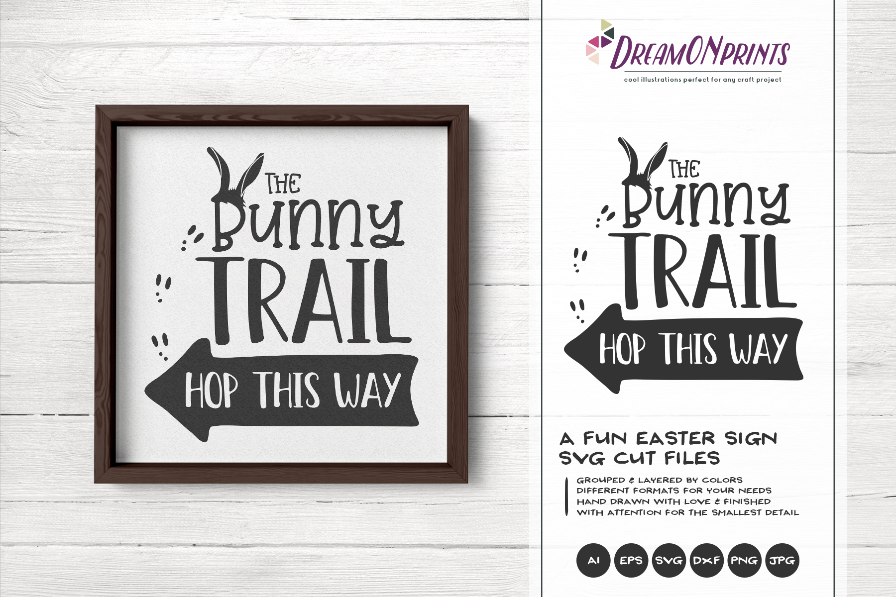 Easter SVG Bundle - The Funny Bunny Vector BUNDLE example image 17